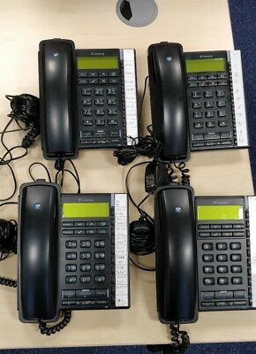 4x BT Converse 2300 Corded Telephone Black