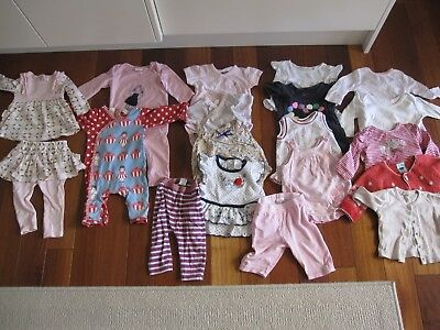 19 x Bulk Girls Clothing (Sooki,Pure Baby,Country Road,Milky) Sz 00 (3-6 mnths)