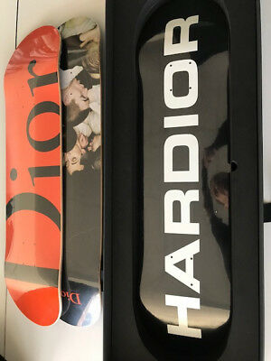 Dior Homme Skateboard Deck Set of 3 NEW with Invoice-HARDIOR , MOSH PITS & DIOR