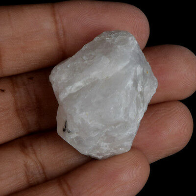 Egl Certified Natural 91.50 Ct Iceland White Rainbow Rough Loose Gemstone V-5740