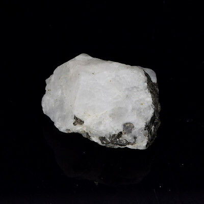 EGL Certified Natural 79.50 Carat White Rainbow Rare Rough Loose Gemstone V-4317