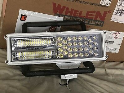 Whelen Pioneer Plus LED Work Scene Spot / Flood Light 12 VDC PCP2 No Hardware