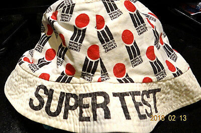 World Series Cricket Super Test Hat From The Late 1970's