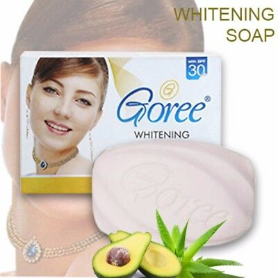 GOREE WHITENING BEAUTY Soap 100% original with Lycopene , Avocado and  Aloevera