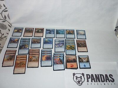 MtG Magic the Gathering Amonkhet blau rotes Cycling Deck