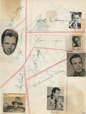 Dennis Day - Signature(S) With Co-Signers