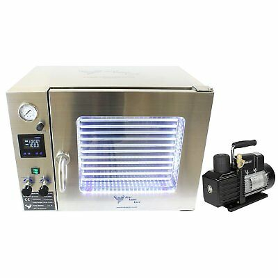 Best Value Vacs- 1.9CF Stainless Steel Vacuum Oven - 5 Wall Heating, Stainle ...