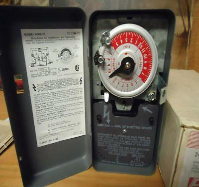 Paragon 4004-71 Electric 24-Hour Time Contro motor 1hp. 208-240 volts