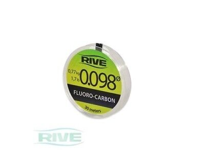 Rive Fluorocarbon Line 30m Spool All Sizes All Breaking Strains Coarse Fishing