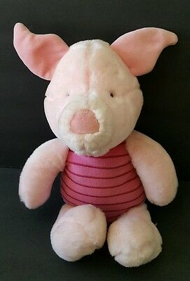 Piglet Plush Toy Disney Store Exclusive 13""