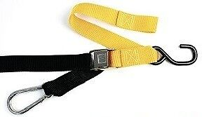 BullBar Snap Hook Tie Downs - Yellow