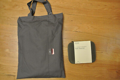 ~NEW~ Cathay Pacific First Class PYE Airline Pajamas S w/ AESOP Male Amenity Kit
