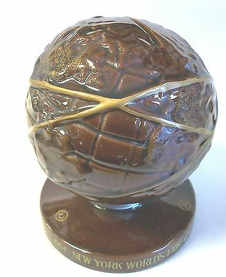 1964-1965 New York World's Fair Ceramic Made in Japan UNISPHERE Coin Bank