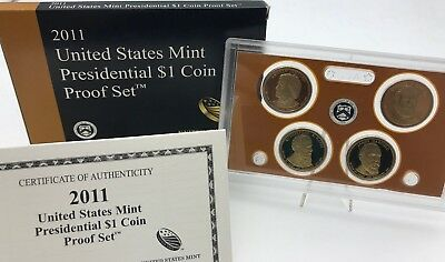 United States 2011 Presidential 1$ dollar proof coins set USA United States KMS