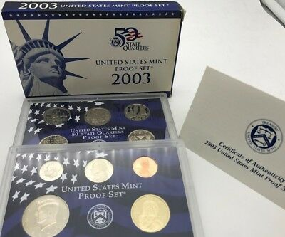 United States 2003 Proof Mint Set 50 State Quarters USA - United States KMS