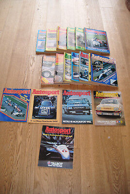 49 Autosport Magazines. All 1982. Good Condition For Age.