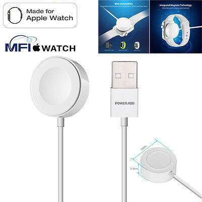 2 M Magnetic Charger Wireless Charging Cable For Apple Watch iWatch 38mm & 42mm