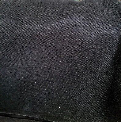 "BLACK COTTON Table Cover Trade show Booth  60""X102"""