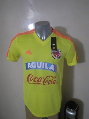 c071e8a4a Seleccion Colombia National Team Training 2018 Yellow Adidas Ce6641 Jersey