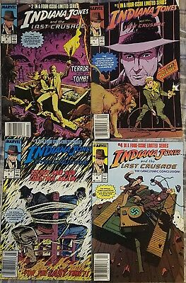 Indiana Jones and the Last Crusade Comics 1-4   item 2017-11-007