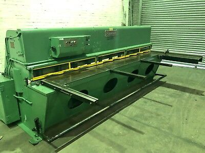 Pearson Hydraulic Sheet Metal Guillotine