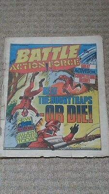 Battle Action Force comic 3 December 1983 very worn but complete issue
