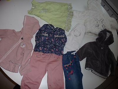 Lot de vêtements fille 6 mois