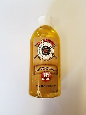 Mr.Flintlock's Patch Lube and Bore Cleaner / 1000 Patch Bottle /Squeeze Tube Top