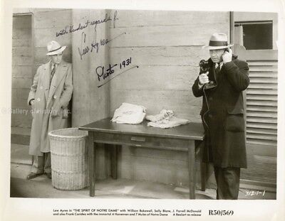 Lew Ayres - Photograph Signed