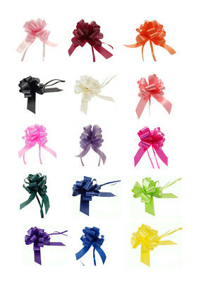 50mm Pull Bows Gift Wrapping Weddings Hampers Floristry Bow Ribbon
