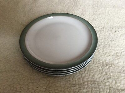 Denby Regency Green Tea/Side Plates X 4