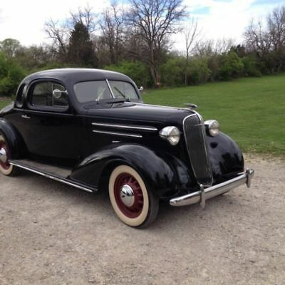 1936 Chevrolet 5 Window Business Coupe