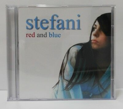!! Lady Gaga Stefani Germanotta -CD Red And Blue -Brazil release 2006 -Rare