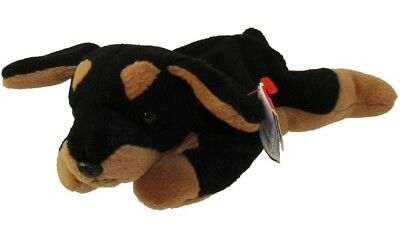 TY Beanie Baby - DOBY The Doberman Dog (1996) RETIRED