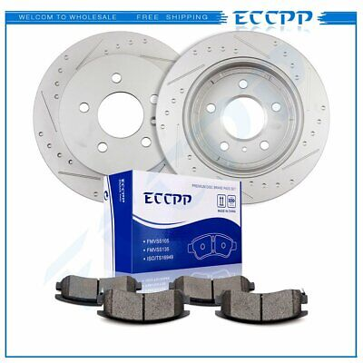 OE Replacement Rotors Ceramic Pads F 2008 2009 Buick Allure V6