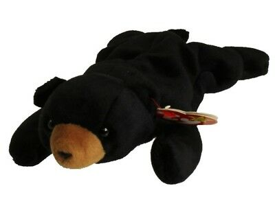 TY Beanie Baby - BLACKIE The Black Bear (1994) RETIRED