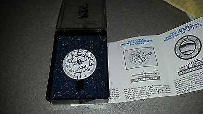 PTC Instruments 573C Spot Check Thermometer 0-525C Made in USA Instrument Gage B