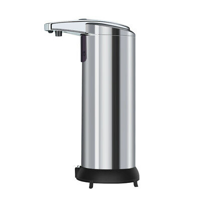 Stainless Steel Auto Sensor Soap Liquid Dispenser Touchless Hand Sanitizer S9GF