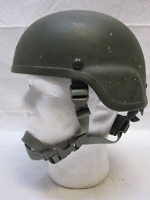 Msa Mich Kevlar Ach Tactical Helmet Medium Olive Green 8470-01-506-6369
