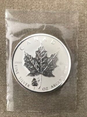 2016 Canada 1 oz Silver Maple Leaf Panda Privy (BU) RCM Sealed