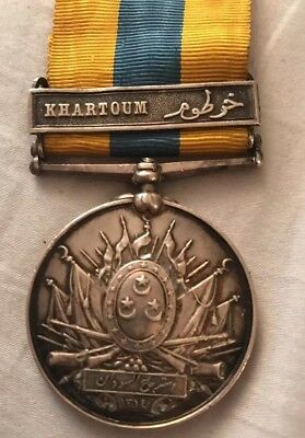 Medal: Egypt & Queen Britain Campaign In Sudan (Named PTE.G. FOOKES. GREN. CDS)