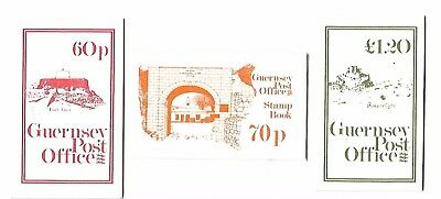 Guernsey - Booklets - Various - Complete - Coins