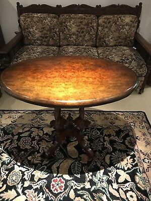 Antique Oval Occassional Table