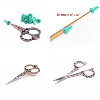Bihrtc Vintage European Style Plum Blossom Scissors For Embroidery, Sewing, Art