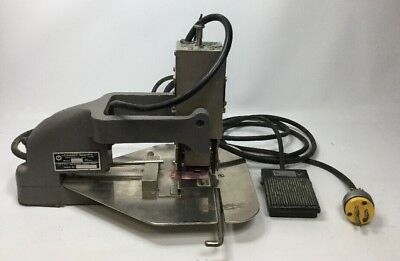 Leibinger-Roberts E21U Electric Numbering Machine w Foot Pedal
