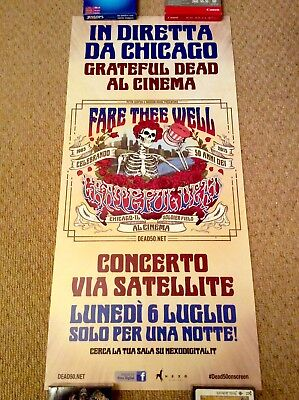 THE GRATEFUL DEAD Original LIVE Music Poster CHICAGO SOLDIER FIELD 6th July 2015
