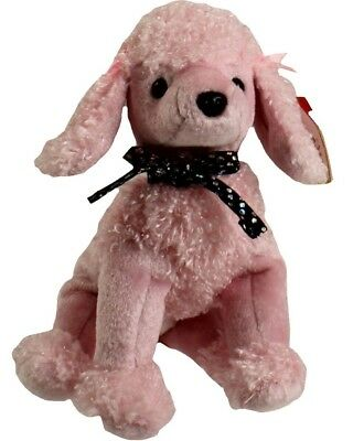 TY Beanie Baby - BRIGITTE The Pink Poodle (2000) RETIRED