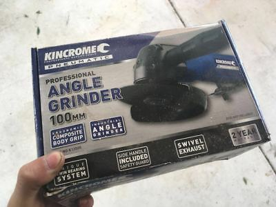 Kincrome Air Tools 100mm Pneumatic Angle Grinder