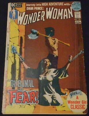 Wonder Woman 1942 #199 DC First Series Bondage Cover 52 Page