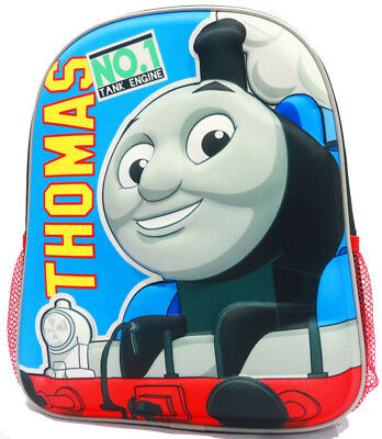 New 3D Small Backpack Thomas School Bag Kids Daycare Preschool Boys Toys Gift